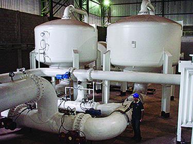 Velkoobjemová VPSA zařízení